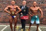 """A.Zajančkovskij ir T.Kairys iškovojo IFBB profesionalų """"kortas"""""""