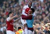 """""""Arsenal"""" užtikrintai susitvarkė su """"Southampton"""" futbolininkais"""