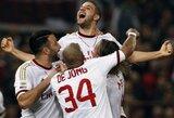 """""""Milan"""" šventė sunkią pergalę prieš """"Genoa"""""""