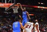 """J.Grantą išsaugojusi """"Thunder"""" ketina perrašyti NBA istoriją"""