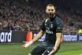 """Rungtynėse su """"Ajax"""" pasižymėjęs K.Benzema užfiksavo istorinį pasiekimą"""