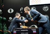 Rusija žaidžia su ugnimi: lyderiaujantis didmeistris turnyro metu ėmė rodyti koronaviruso simptomus