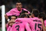 """""""Juventus"""" ir """"Milan"""" šventė pergales  (2 VIDEO)"""