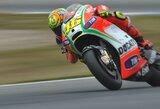"V.Rossi: ""Ducati"" šioje trasoje greitesnis, nei įprasta"""