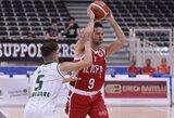 M.Kalniečiu treneris nepasitikėjo, o S.Jasaitis ir D.Zavackas surinko vienodą taškų skaičių