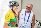 Pasaulio dviratininkių reitinge – R.Leleivytės šuolis į 37-ą vietą
