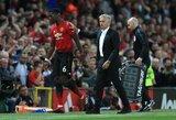 """J.Mourinho: """"P.Pogba niekuomet neprašė leidimo keltis į """"Barceloną"""""""