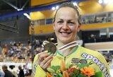 Dviratininkė S.Krupeckaitė į pasaulio čempionatą vyks 15-ą kartą