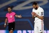 K.Benzema spalio mėnesį stos prieš teismą dėl komandos draugo šantažavimo