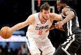 "D.Gallinari toliau ""pjauna"" traumos: vėl negali padėti ""Clippers"""