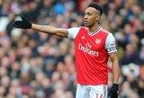 """Dėl P.E.Aubameyango ateities """"Arsenal"""" dvejojantis T.Henry : """"Kaip galiu patarti jam likti, kai pats išvykau?"""""""