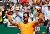 Įspūdingas dominavimas: R.Nadalis prieš septintąją pasaulio raketę pralaimėjo tik du geimus