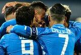 """""""Napoli"""" Italijos taurės aštuntfinalyje iškovojo pergalę"""