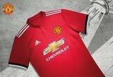 """""""Manchester United"""" pristatė naujojo sezono aprangą"""