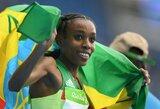 Pribloškiantis olimpinių lengvosios atletikos varžybų startas: pasaulis tokio bėgimo dar nematė