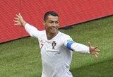 Kaip C.Ronaldo reagavo į naktį prie viešbučio triukšmavusius iraniečius?