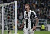 """Rado pamainą R.Lukaku? """"Man United"""" atnaujino derybas su """"Juventus"""" dėl M.Mandžukičiaus įsigijimo"""