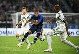 Tautų lygos starte vokiečiai ir pasaulio čempionai prancūzai išsiskyrė be įvarčių