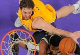 """""""Lakers"""" nutraukė pralaimėjimų seriją"""