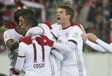 """Už įveiktą """"RB Leipzig"""" klubą """"Bayern"""" kitoms komandoms ruošia dešrelių puotą"""