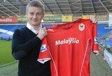 "Oficialu: ""Cardiff"" klubo vairą perima O.G.Solskjaeras"
