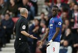 """Situacija nepatenkintas E.Bailly ketina apsvarstyti savo ateitį """"Manchester United"""" gretose"""