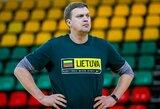 """M.Kalnietį gyręs D.Adomaitis paaiškino, kodėl rinktinėje nebus D.Motiejūno ir """"Žalgirio"""" žaidėjų"""