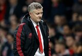 """Ketvirtąją pergalę su """"Man United"""" iškovojęs O.G.Solskjaeras užfiksavo istorinį klubo pasiekimą"""