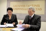Pasirašytas LTOK ir KKSD susitarimas dėl dalyvavimo Rio de Žaneiro olimpinėse žaidynėse