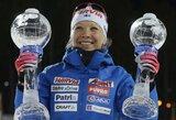 Įspūdinga sezono kulminacija: A.Kuzmina išleido pasaulio biatlono taurę iš rankų