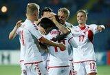 Pasaulio čempionato atranka: lengvos Danijos ir Azerbaidžano rinktinių pergalės