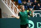 ITF turnyruose L.Mugevičius ir I.Dapkutė neįveikė kvalifikacijos, L.Grigelis sugrįžta daugiau nei po pusmečio pertraukos