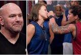 UFC prezidentas paskyrė J.Stoliarenko varžovę pusfinalyje, lietuvė sulaukė pasaulio čempiono pagyrų