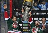 """Kazanės """"AK Bars"""" po aštuonerių metų pertraukos laimėjo """"Gagarino taurę"""""""