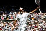 R.Federeris išpildė savo gerbėjos svajonę, S.Wawrinka eliminavo šeštąją pasaulio raketę