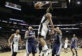 """""""Spurs"""" gynyba privertė varžovus pasiekti dar vieną antirekordą"""