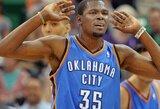 """B.Griffino ir Ch.Paulo dvigubi dubliai nepadėjo """"Clippers"""" klubui laimėti Oklahomoje"""