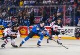 Netikėta: Kanados ledo ritulio rinktinė nesėkme pradėjo pasaulio čempionatą, K.Kakko įmušė reto grožio įvartį