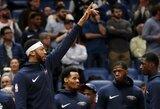 """Traumuotas A.Davisas stebėjo nutrūkusią """"Pelicans"""" pergalių seriją"""