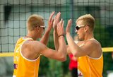 Perspektyviems Lietuvos paplūdimio tinklininkams – galimybės sportuoti profesionaliai