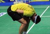 K.Navickas pergale pradėjo Europos badmintono čempionatą (A.Stapušaitytė pralaimėjo)