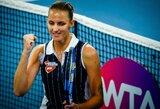 Brisbene triumfavusi K.Pliškova tapo tituluočiausia žaidėja per turnyro istoriją