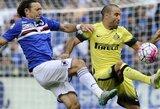 """I.Perišičiaus įvartis išgelbėjo """"Inter"""" nuo pralaimėjimo"""