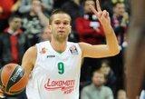 Rezultatyviausiai rungtyniavęs M.Kalnietis neišgelbėjo komandos nuo triuškinančios nesėkmės