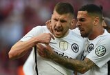 """Vokietijoje """"Eintracht"""" ir """"Augsburg"""" nutrauktos pralaimėjimų serijos"""