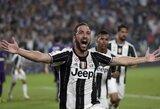 """""""Serie A"""" starte G.Higuainas išplėšė pergalę """"Juventus"""" klubui"""