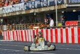 Geriausias rezultatas Lietuvos istorijoje – podiumas pasaulio kartingo čempionate