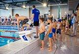 Kilnaus projekto dėka plaukti išmoko beveik 2500 Vilniaus antrokų