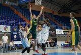 Lietuvos krepšininkai pasaulio kurčiųjų čempionate sutriuškino varžovus 66 taškų skirtumu