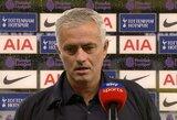 """J.Mourinho apie savo komandos žaidėjų susistumdymą: """"Kaltinkite mane"""""""
